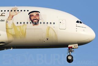 Emirates A6-EUZ 21-4-2018
