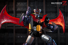 MAZINGER Z INFINITY Bandai Metal Build. (Andy @ Pang Ket Vui ( shootx2 )) Tags: mazinger infinity bandai metal diecast toys movie