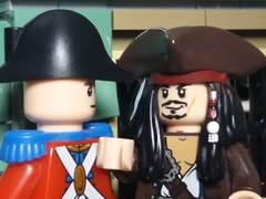 You are the worst pirate that I have ever heard of (eddiemck123) Tags: lego minifigure moc toy piratesofthecarribean jacksparrow soldier pirates