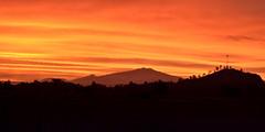 Atardecer naranja (elrayman210) Tags: sunset ata atardecer naraja orange mexico michoacan calido colorido montañas mounain