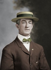 T.A. Needon resize edit (rob.vndnB) Tags: the library congress colorization colorized c m bell people portrait photo photogragh photographs picture public old rvndnb american archives border glass looking light image negative negatives print year 1906