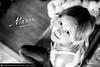 16h34 (Mathieu Muller) Tags: portrait shallow dof focus flou blur blurry enfant child kid fille girl noir blanc black white wwwmathieumullercom depthoffield mathieumuller