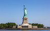 Statue of Liberty (Oleg.A) Tags: sunny newyork landscape manhattan nature water city outdoor hudsonriver midday viewpoint icon sculpture exterior summer colorful art blue aqua panorama park island style skyscape design architecture libertyisland usa nyc america landscapes noon outdoors town
