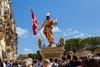 Easter celebration at Birgu, Malta (kurjuz) Tags: 2018 birgu easter irxoxt risenchrist celebration crowd light statue