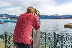 Luzern/Schweiz 2. April 2018 (karlheinz klingbeil) Tags: stricken see water switzerland city knitting lake mode knitwear knit schweiz stadt suisse wasser gestricktes luzern fashion ch