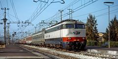 Colosseum (maurizio messa) Tags: ec71 colosseum e444 breda lombardia yashicafxd mau bahn ferrovia treni trains railway railroad ec eurocity