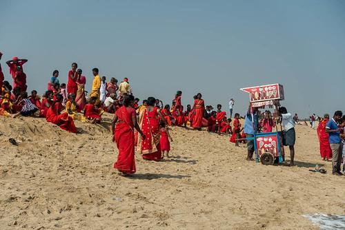 Marina Beach, Madras, Tamil Nadu, Inde
