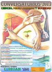 Afiche I Ciclo de Conversatorios