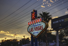 Las Vegas, NV 08 (Christopher Elliot Taylor) Tags: 1452 sign lasvegas sky trees outdoors travel tourism canont1i affinityphoto hdr neon powerlines places
