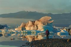 Jökulsárlón Glacier Lagoon (Iceland) año 1998 (joseange) Tags: iceland glaciares icebergs lagos