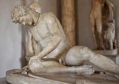 The Dying Gaul (historyguy2008) Tags: statue marble sculpture gaul dying roman rome capitoline musuem death warrior battle