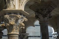 Pillar (laudickan) Tags: ancient church details marble