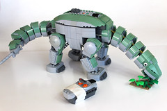 Walking Dinosaur version 2 (dschlumpp) Tags: lego moc dinosaur diplodocus ideas walking