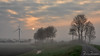 Misty morning (BraCom (Bram)) Tags: 169 bracom bramvanbroekhoven goereeoverflakkee holland nederland netherlands southholland stadaanhetharingvliet zuidholland akker boerderij bomen cloud countryroad dijk dike ditch farm field fog fruhling gras grass landscape landschap landweg lente mist morning ochtend polder printemps road sky sloot spring sun sunrise trees weg widescreen windmill windmolen wolk zon zonsopkomst stadaantharingvliet nl saariysqualitypictures