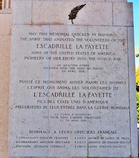 mémorial Escadrille La Fayette