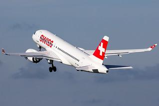 Swiss - Airbus A220-100 - HB-JBH
