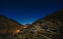 Tizi Oussem (Mathijs Buijs) Tags: atlas mountains mountain range village night sky stars terraces north northern africa canon eos 5d mark mk iii arab berber houses