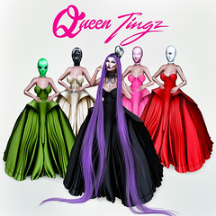 ◊ Queen Tingz ◊ (Venus Germanotta) Tags: secondlife fashion fierce nickiminaj barbie barbietingz queen queentingz queendom minajesty gowns belleepoque lavenderblonde purplehair purple colour cureless azoury crown hiphop rap popculture music iconic latex satin fabulous glamour glamorous chic beautiful typography longweave aesthetic style blog blogger blogging blogpost graphicdesign design photoshop edit mesh digitalart pink pastel diva queens princess royalty trends rapper lavish model pose supermodel lighting perspective fashionista highfashion hautecouture couture vogue sisterhood kingdom story plastic dolls vibrant masks bizarre jealousy sisters