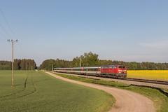 DB 218 463 en EC van Zürich naar München. Eresing (Hans Wiskerke) Tags: weil bayern duitsland de 218 v160 db ec