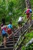 Moving on to the next waterfall (Stinkee Beek) Tags: lombok yewyen adi erin ethan