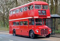 RM545 WLT545 (PD3.) Tags: rm545 rm 545 wlt545 wlt daf aec routemaster surrey museum brooklands lbpt cobham annual bus buses coach spring gathering preserved vintage preservation trust 2018 london transport weybridge