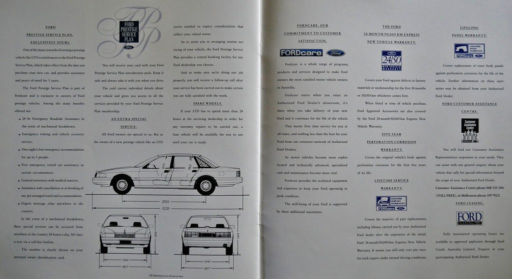 the world s best photos of fordbrochure flickr hive mind