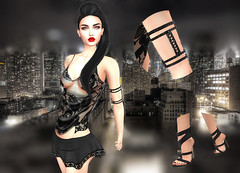 LuceMia - EVENT-CRAZY-FASHION (2018 SAFAS AWARD WINNER - Favorite Blogger -) Tags: eventcrazyfashion secondlife sl new fashion blog beauty continuum outfit armband maitreya event models lucemia