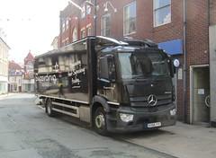 Superdrug KX66 YYC at Oswestry (Joshhowells27) Tags: lorry truck superdrug mercedes mercedesbenz antos supermarket