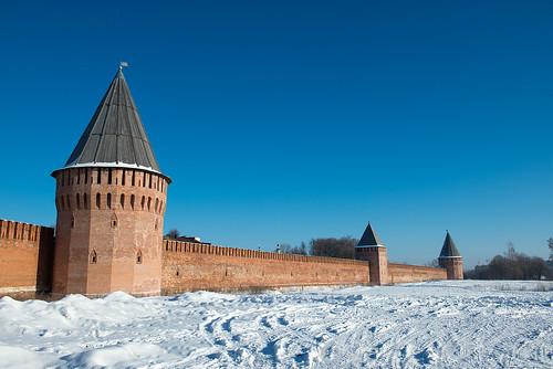 Smolensk wall ©  Andrey