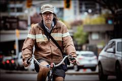 Nantucket Man (Dan Dewan) Tags: 2018 canonef70200mmf14lisusm spring bicycle street people person canon colour hat cyclist ottawa sunday dandewan ontario canada glasses may portrait man