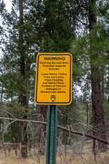 DSCF7192 (I.M. Stile) Tags: gilanationalforest usfs forest newmexico warning sign