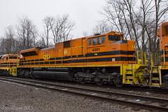 P&W 4301 (Dan A. Davis) Tags: bprr buffalopittsburgh freighttrain locomotive train railroad bp geneseewyoming gwrrgw punxsutawney rikeryard pa pennsylvania sd70m2