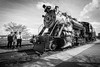 Engine No. 90 (North Arch Photography) Tags: tender 2017 monochrome strasburg blackandwhite train pennsylvania conductor locomotive lancastercounty railroad steam april