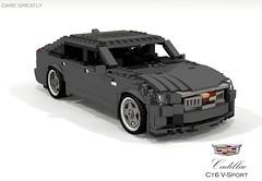 Cadillac CT6 V-Sport (2018) (lego911) Tags: cadillac ct6 vsport v8 turbo omega rwd luxury 2018 2010s auto car moc model miniland lego lego911 ldd render cad povray usa america american gm general motors foitsop