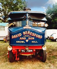 Deborah (Beardy Vulcan II) Tags: knowlhill hill deborah steam steamrally steamwagon wagon lorry truck vehicule maidenhead reading berkshire england summer august 1984 20thcentury