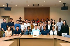Prof. Ogawa Birthday Party