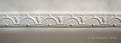 Decorative Dado, detail (Su_G) Tags: sug 2018 built artnouveau decorativedadodetail asymmetry irregular closeup architecturaldetail detail artefact human