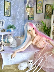 Ariel (♥ Lily Queens ♥) Tags: princess cat deer queen kogumaza ae ariel wig custom ooak