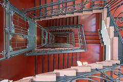 The Lost Elevator (Frank Guschmann) Tags: treppe treppenhaus frankguschmann nikond500 d500 nikon staircase stairwell escaliers architektur stairs stufen steps