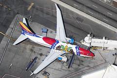 Southwest N280WN 17-5-2018 (Enda Burke) Tags: klax lax losangeles avgeek aviation southwest aouthwestairlines airplane runway travel taxiing taxiway terminal1 boeing boeing737 boeing737700 usa unitedstatesofameria missourione missouri