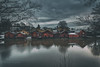 Porvoo riverside (Mika Laitinen) Tags: canon5dmarkiv europe finland porvoo scandinavia architecture calm city cityscape cloud cold landscape longexposure nightfall outdoors river sky twilight water winter borgå uusimaa fi
