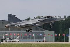Saab JAS-39C Gripen Czech Air Force 9239 (NTG842) Tags: poznankrzesiny 31st air base 31 baza lotnicza poland nato tiger meet spotters day 2018 saab jas39c gripen czech force 9239