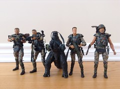Godzilla with the Corps (splinky9000) Tags: neca 2014 godzilla legendary pictures action figure toys