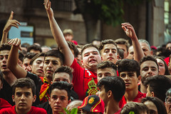 _MG_0348 (sergiopenalvagonzalez) Tags: rcdmallorca futbol football ball people ambiente palma palmademallorca aficion pasion rojo negro ib3 diariodemallorca sergiopenalvagonzalez sergiopenalvag gente emocion nervios ascenso alegria