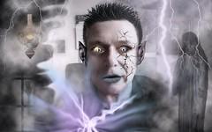 zombiefied (Stiller Beobachter) Tags: digitalart zombie fantasy horror