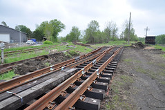 CN Upgrades (1) (Ace31_2010) Tags: guelph canadian national cn cnr tracks steel