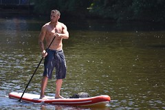DSC_1102 (marcnico27) Tags: 2018 marcnico27 outdoor hamburg man male shirtless wet sport board sup
