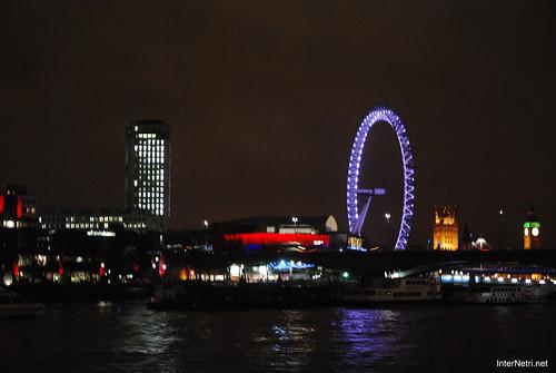Око Лондона вночі InterNetri United Kingdom 0426