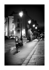 The Night of the Parisienne! (Doctorbabaguy_1) Tags: paris woman girl night noire fog mist mystery lights streetlamps mood feast dark sky urban cityscape city