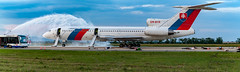 Emergency drill (airliners.sk, o.z.) Tags: emergency drill firefighters rescue unit tupolev tu154m ombyr ssg airplane aircraft